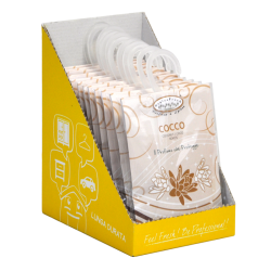 Hygienfresh® Scented Sachet Coconut with Hook