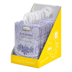 Hygienfresh® Scented Sachet Blue Jasmine with Hook